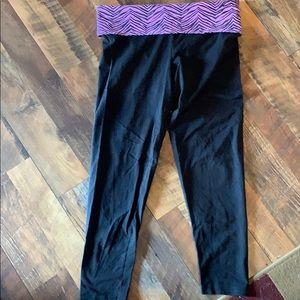 PINK zebra leggings